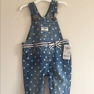 Baby Girl overall jumper size 12 Month